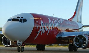Air Asia RC airliner